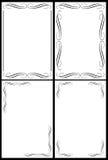 рамки классики граници Стоковые Фотографии RF