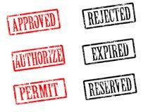不加考虑表赞同的人 免版税库存图片