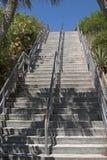 天空楼梯 库存图片