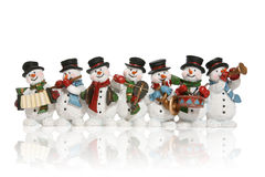 χιονάνθρωποι Στοκ εικόνα με δικαίωμα ελεύθερης χρήσης