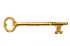 χρυσό πλήκτρο Στοκ εικόνες με δικαίωμα ελεύθερης χρήσης