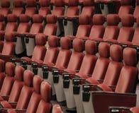 观众席就座 免版税图库摄影