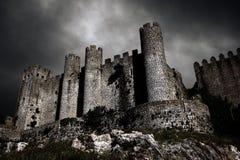 城堡黑暗 库存照片