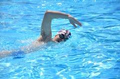 游泳术 免版税库存图片