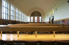 图书馆参考阅览室 免版税库存图片