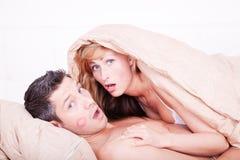 夫妇性别 免版税库存照片