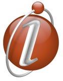 按钮图标信息信息查出的符号 库存照片