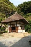 日本镰仓寺庙 免版税图库摄影