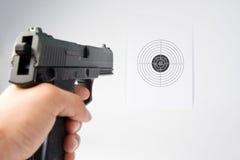 стрельба Стоковые Изображения RF