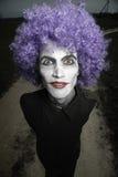 клоун шальной Стоковая Фотография RF