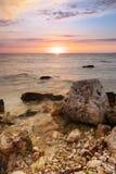 красивейшее море ландшафта Стоковые Изображения