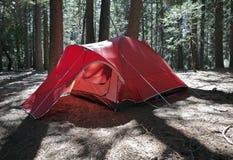 большой красный шатер Стоковое Фото