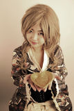 азиатская милая девушка Стоковые Изображения RF