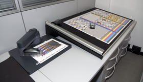 色度学实验室 免版税图库摄影