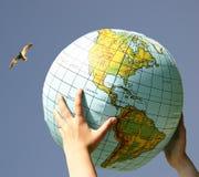 我们的世界 免版税库存照片