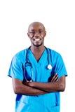 非洲医生 库存照片