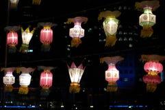 节日灯笼新加坡 免版税库存图片