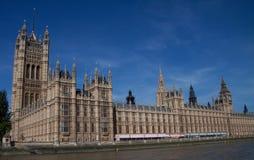 安置伦敦议会 免版税图库摄影