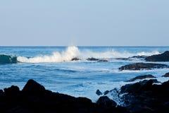 ακτή Χαβάη Στοκ εικόνες με δικαίωμα ελεύθερης χρήσης
