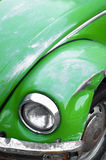 αυτοκίνητο πράσινο Στοκ Φωτογραφία