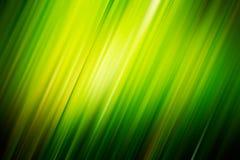 模糊的对角绿色光芒 库存图片