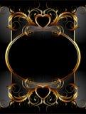 рамка богато украшенный Стоковые Фотографии RF