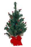 圣诞节假微型结构树 库存图片