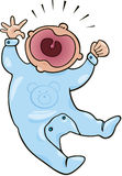 να φωνάξει μωρών Στοκ Εικόνες