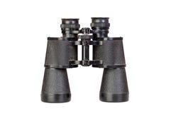 双筒望远镜黑色 免版税图库摄影
