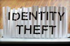 身分偷窃 免版税库存照片