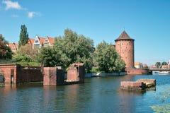 Старый городок. Стоковое фото RF