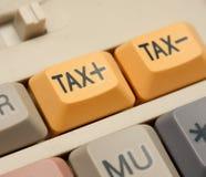 增加税务 免版税库存照片