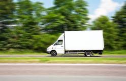 送货车 免版税图库摄影