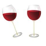вино стекел Стоковое Изображение