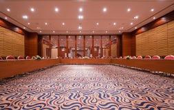 会议空的空间 免版税库存图片