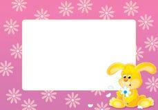 框架照片粉红色 免版税库存图片