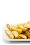 土豆楔子 免版税库存照片