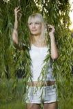 γυναίκα πορτρέτου φύσης Στοκ εικόνες με δικαίωμα ελεύθερης χρήσης