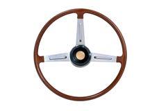 рулевое колесо деревянное Стоковые Изображения RF