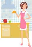 домохозяйка Стоковая Фотография RF