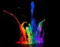 ομιλητής χρωμάτων Στοκ Φωτογραφίες