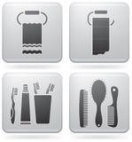 εργαλεία λουτρών Στοκ εικόνες με δικαίωμα ελεύθερης χρήσης