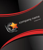 公司徽标名字 免版税库存图片
