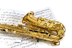 саксофон Стоковые Изображения