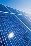 可选择能源太阳工厂的次幂 图库摄影
