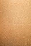金黄皮革纹理 库存照片