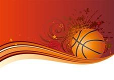 背景篮球设计 图库摄影
