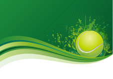 теннис предпосылки Стоковые Изображения RF