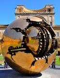 宫殿梵蒂冈 免版税库存图片