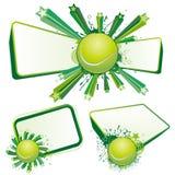 设计网球 库存图片